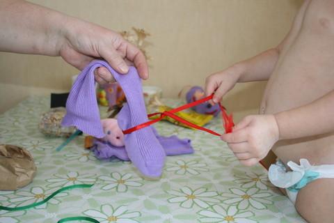 ПОДЕЛКИ с детьми от 1 до 3 лет.