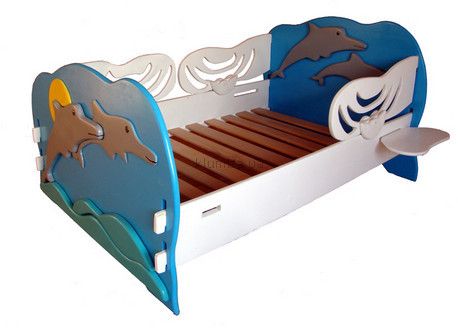 Детская кроватка BoonZik Дельфин