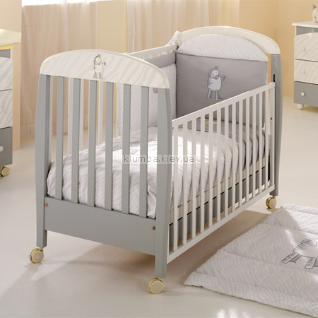 Детская кроватка MIBB Zebra