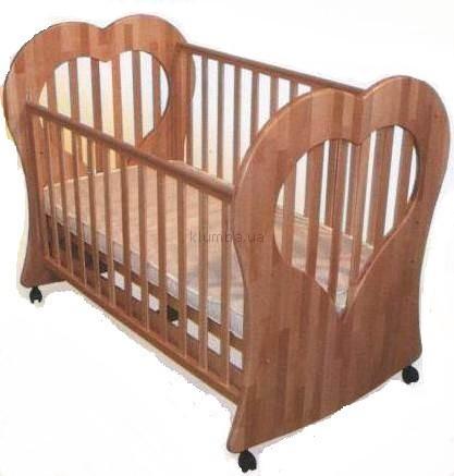 Детская кроватка Веселка Сердечко