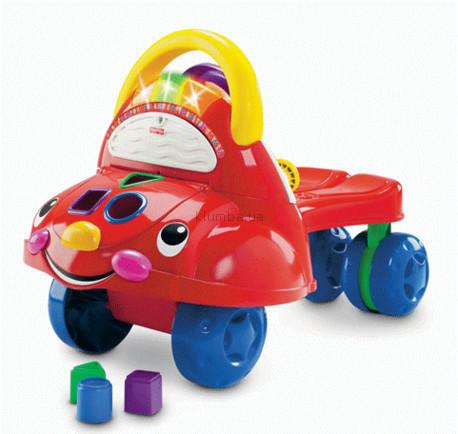 Детские ходунки, прыгунки Fisher Price Моя первая машина