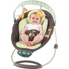 Детское кресло-качеля Bright Starts InGenuity Automatic Bouncer ,Java Jungle Fashion (60010) (Джунгли)