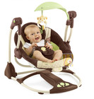 Детское кресло-качеля Bright Starts Disney Baby The Lion King Premier ConvertMe Swing-2-Seat (60030) (Король Лев)