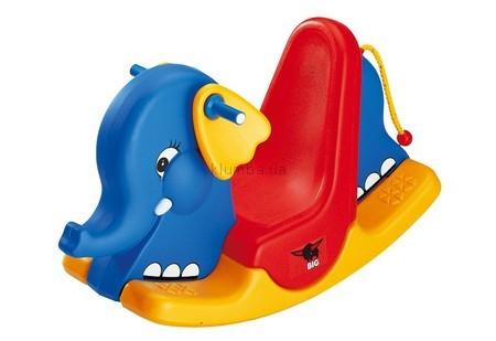Детская машинка Big Кресло-качель Слоненок
