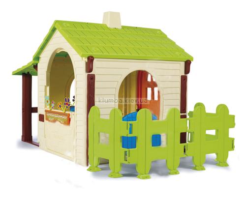 Детская площадка Halabuda Фермерский домик с заборчиком