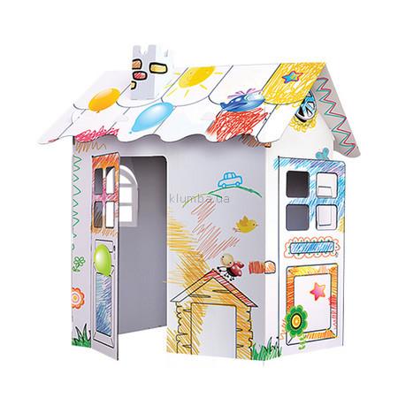 Детская площадка Halabuda Картонный домик
