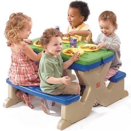 Детская площадка Step2 Стол для пикника Дачный