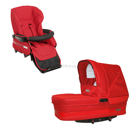 Детская коляска Bebecar Комплект (Люлька+прогулочный блок)