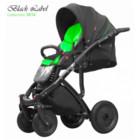 Детская коляска Kinder Rich Black Label 2 в 1