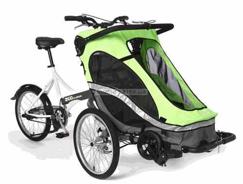 Детская коляска Zigo Велоколяска Leader 3 в 1