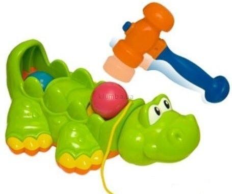 Детская игрушка BabyBaby Каталка Крокодил