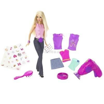 Детская игрушка Barbie Барби с набором Стильное тату
