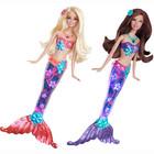 Детская игрушка Barbie Русалка Яркие огни