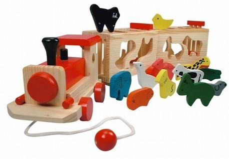 Детская игрушка Bino Поезд с животными