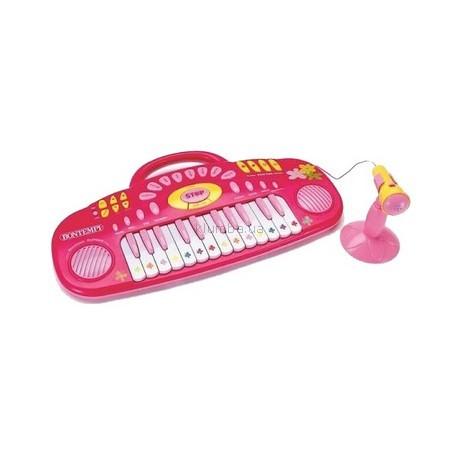 Детская игрушка Bontempi Электронная миниклавишная панель с микрофоном