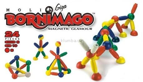 Детская игрушка Bornimago Магнитный конструктор (24 детали)