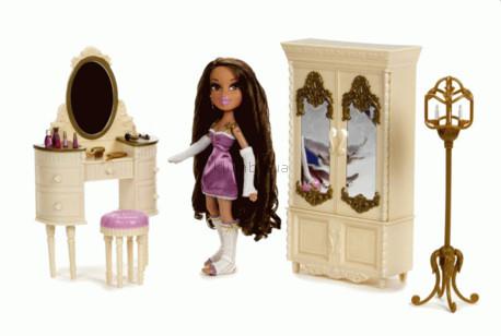 Детская игрушка Bratz Ясмин и ее комната
