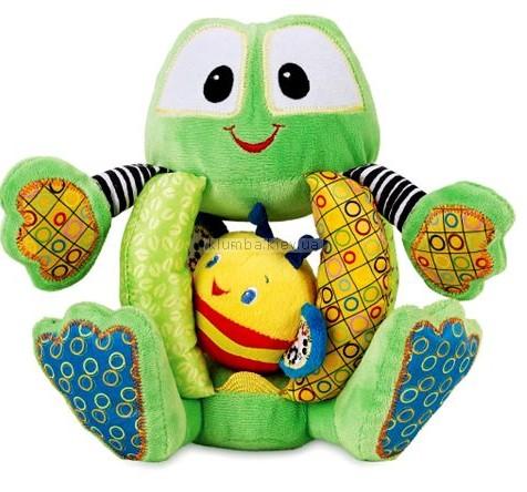Детская игрушка Bright Starts Belly Buzzer (Лягушка со звонким брюшком)
