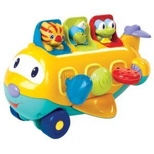 Детская игрушка Bright Starts Peek-a-Zoom (Музыкальный самолетик)