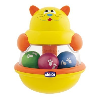 Детская игрушка Chicco Игрушка-юла Котенок