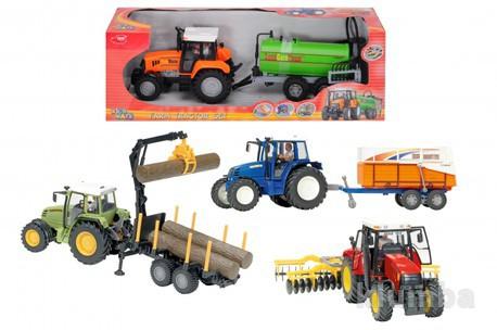 Детская игрушка Dickie Трактор с прицепом, в ассортименте