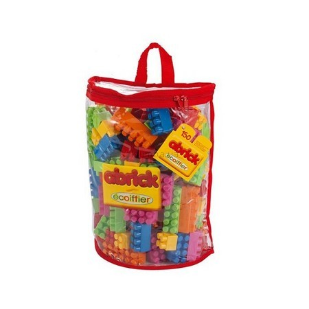 Детская игрушка Ecoiffier (Smoby) Конструктор в прозрачной сумочке