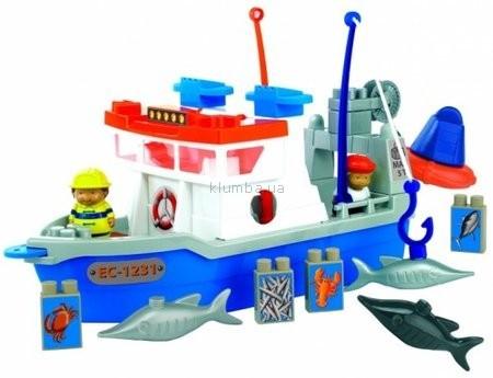 Детская игрушка Ecoiffier (Smoby) Рыбальское судно