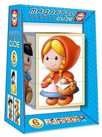 Детская игрушка Educa Магнитный пазл-куб Сказки