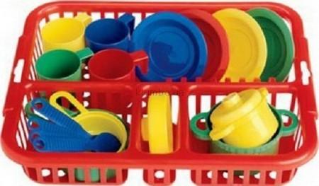 Детская игрушка Faro Набор посуды Лоточек для сушки