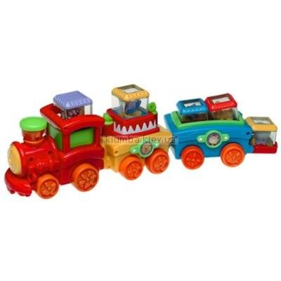 Детская игрушка Fisher Price Поезд с кубиками