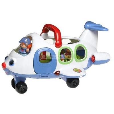 Детская игрушка Fisher Price Маленькие человечки. Самолет