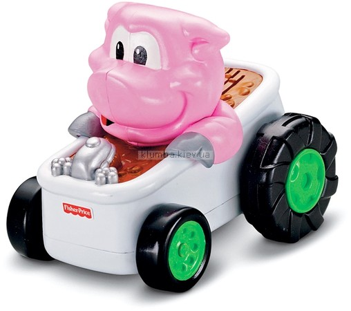 Детская игрушка Fisher Price Машинки со зверюшками