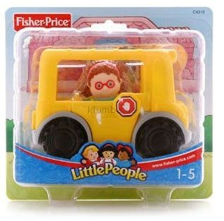 Детская игрушка Fisher Price Маленькие человечки, Машинки