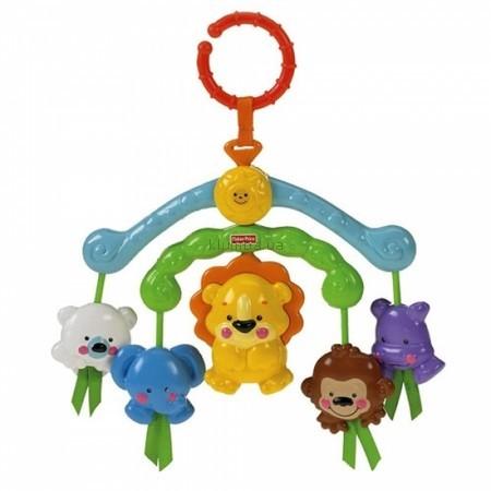 Детская игрушка Fisher Price Прекрасная планета, Веселые зверята