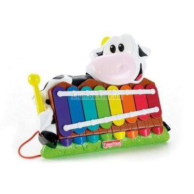 Детская игрушка Fisher Price Ксилофон Корова