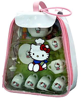 Детская игрушка Grand Soleil Набор посуды в рюкзачке