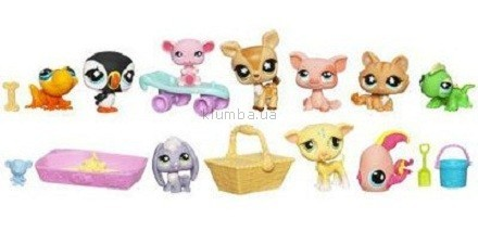 Детская игрушка Hasbro Лител Пет Шоп, Большой игровой набор в сумочке Play-doh