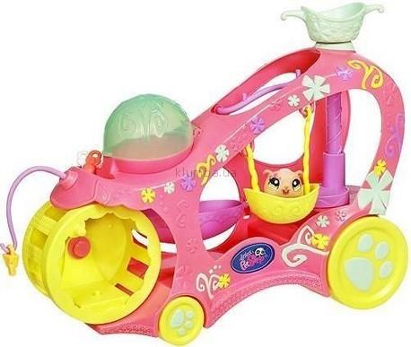 Детская игрушка Hasbro Лител Пет Шоп,  Машинка для зверюшек