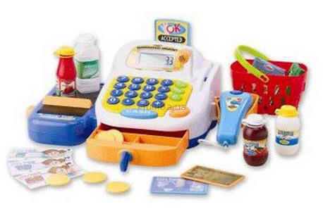 Детская игрушка Keenway Кассовый аппарат с микрофоном  (30242)