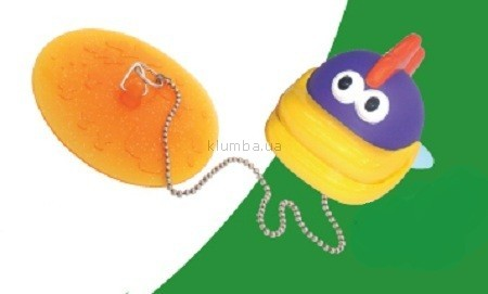 Детская игрушка Kid Genius Рыбка, заглушка для ванны