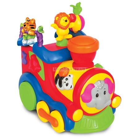Детская игрушка Kiddieland Циркачи на паровозе