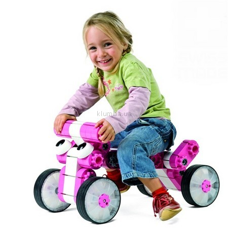 Детская игрушка Kiditec Multicar Универсальная машина (розовая, синяя, красная)