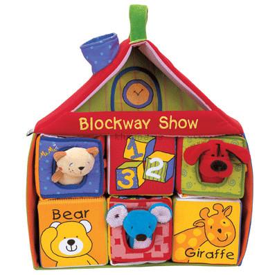 Детская игрушка K's Kids  Мягкие кубики в домике