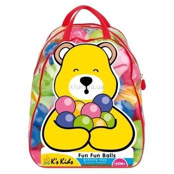 Детская игрушка K's Kids Набор шариков 50 шт для игр в сумке