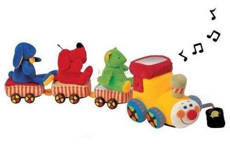 Детская игрушка K's Kids Поезд с животными