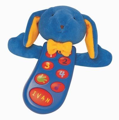 Детская игрушка K's Kids Музыкальный телефон c записью заяц Иван