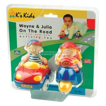 Детская игрушка K's Kids Джулия и Иван - путешественники