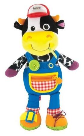 Детская игрушка Lamaze Подвеска Коровка Фермер Фред