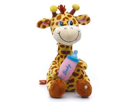 Детская игрушка Lava Жирафик с бутылочкой малый