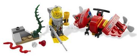 Детская игрушка Lego Atlantis Подводный скоростной байк (7976)